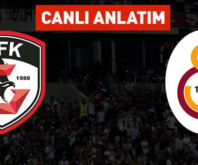 Gaziantep - Galatasaray CANLI YAYIN