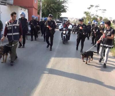 200 polis görev aldı! Hatay'da uyuşturucu operasyonu