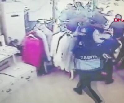 Zabıta şiddeti kamerada