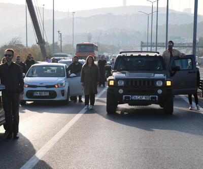 İstanbul'da 9'u 5 geçe hayat 2 dakika durdu