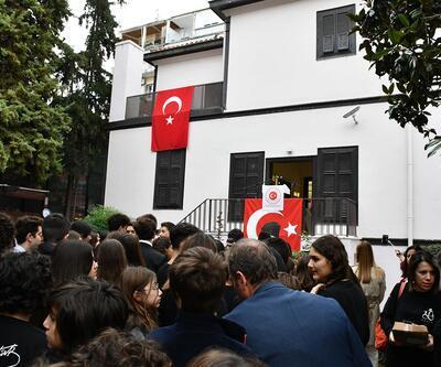 Atatürk Selanik'te doğduğu evde duygu dolu törenle anıldı