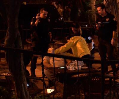 Fatih'te kafede oturan bir kişiye silahlı saldırı