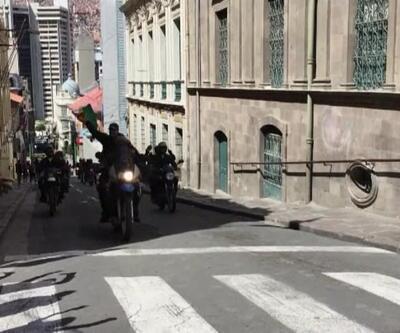 Polis eylemcilerin tarafında