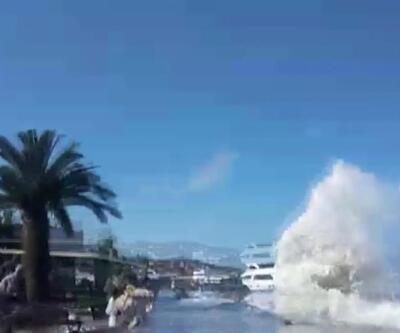 Büyükada'da tsunami korkusu