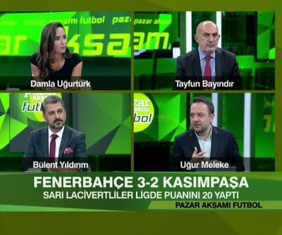 BJK 1-0 Denizlispor, Gaziantep 0-2 G.Saray, F.Bahçe 3-2 Kasımpaşa maçlarının analizi Pazar Akşamı Futbol'da ekrana geldi
