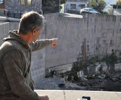 Amasra Kalesi'nden kanalizasyon suyu akıyor