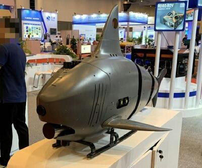 Köpek balığına benzeyen robotlar tanıtıldı