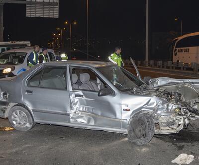Yer: Ankara! Babasının otomobilini kaçıran genç kaza yaptı