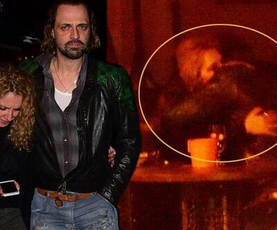 Evli oyuncu Ertan Saban Cihangir'de böyle görüntülendi! Kafaları karıştıran yakınlaşma