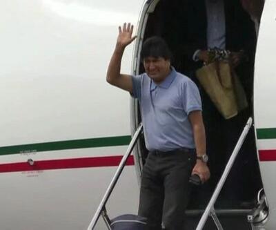 Morales Meksika'da büyük ilgiyle karşılandı
