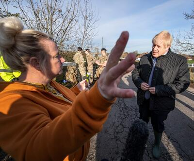 İngiltere Başbakanı Johnson'a çiftçilerden fırça