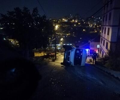 İstanbul'da okul servisi kaza yaptı! Çok sayıda yaralı var