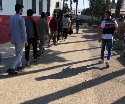Mersin'de 74 düzensiz göçmen yakalandı