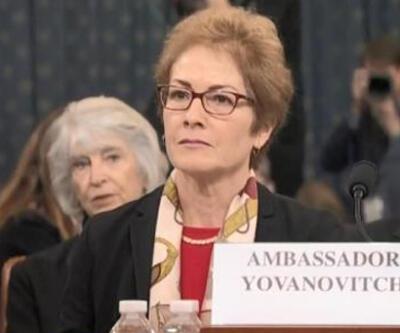 Azil soruşturmasının ikinci gününde Yovanovitch ifade verdi