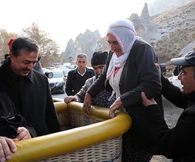Kayseri'de ilk kez balon havalandı
