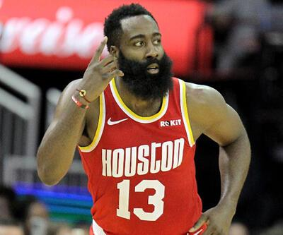 Harden 44 sayı attı Rockets kazandı