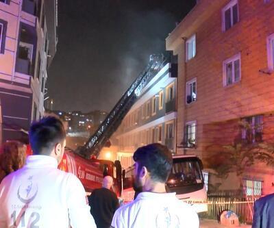 İstanbul'da yangın paniği! Binadakiler hemen tahliye edildi
