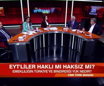 Erken emeklilik Türkiye'nin zararına mı? EYT'liler haklı mı haksız mı? CNN TÜRK Masası'nda tartışıldı