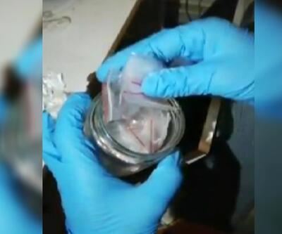 Narkotik operasyonu kamerada