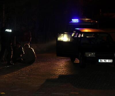 Hareketli dakikalar! Polise ateş açtılar