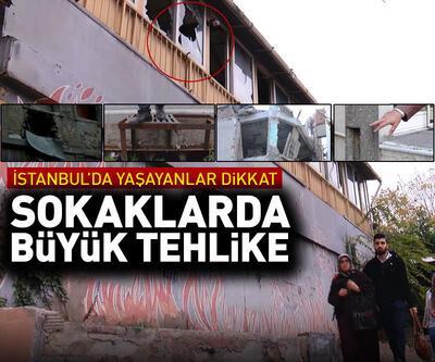 İstanbul sokaklarında her köşe başında bir tehlike