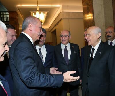 Son dakika: Cumhurbaşkanı Erdoğan, Devlet Bahçeli ile görüştü