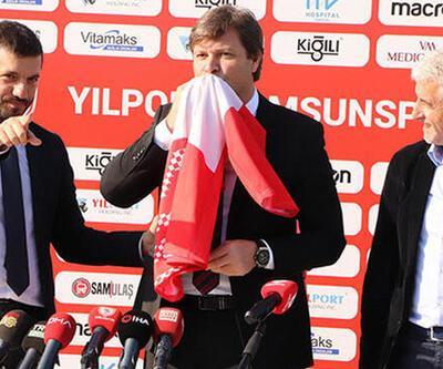 Ertuğrul Sağlam: Samsunspor'u 6. şampiyon yapmak için geldim
