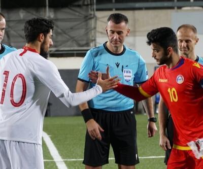 Türkiye Andorra'ya 2 golle kaybetti