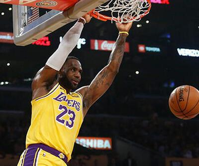 LeBron James'in rekor gecesi