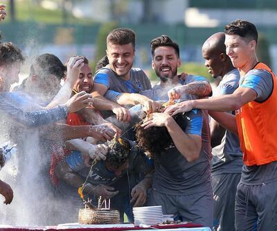 Trabzon'da çılgın doğum günü kutlaması
