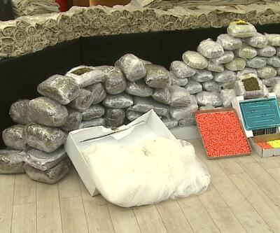 479 kilo uyuşturucu ele geçirildi