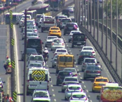 İstanbul trafiği azalmıyor