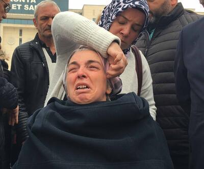 İki kızının katilini karşısında görünce gözyaşlarına boğuldu