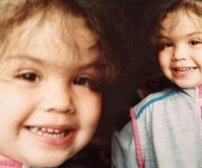 Azra Akın küçüklük fotoğrafını paylaştı