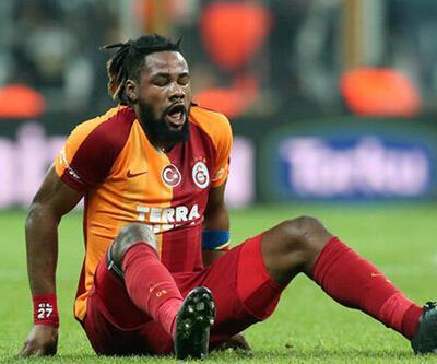 Galatasaraylı Luyindama sezonu kapattı!