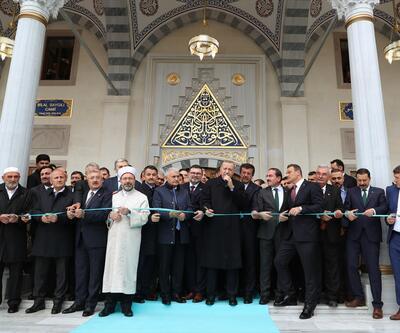 Cumhurbaşkanı Erdoğan, Bilal Saygılı Camisi ve Külliyesi'nin açılışına katıldı