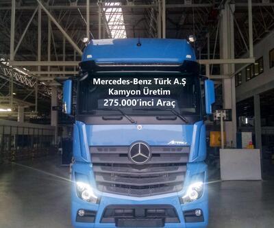 Aksaray'da 275 bin kamyon üretti