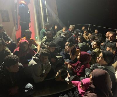 Mersin'de 52 düzensiz göçmen yakalandı