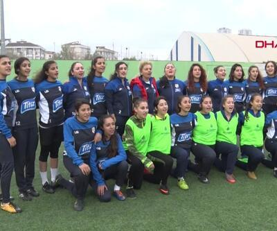 """""""Kadına karşı şiddete hayır"""" maçı"""