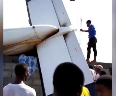 Kongo Demokratik Cumhuriyeti'nde yerleşim merkezine uçak düştü: 29 ölü