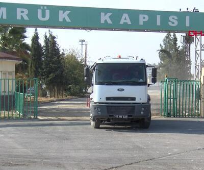 Akçakale Sınır Kapısı açıldı