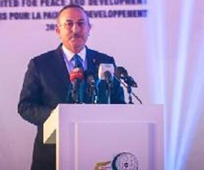 Bakan Çavuşoğlu'ndan Filistin açıklaması