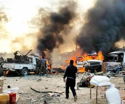 Resulayn'da bomba yüklü araç patladı! Çok sayıda ölü ve yaralı var...