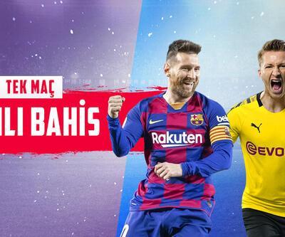 Barcelona-Dortmund maçı CANLI BAHİS seçenekleriyle Misli.com'da!
