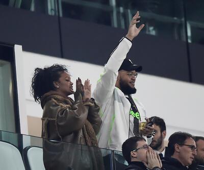 Rihanna ve Ronaldo maça damga vurdu