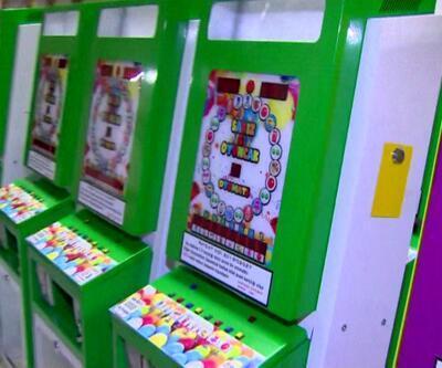 Oyuncak otomatı kumar makinesi çıktı