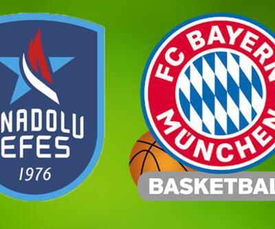 Anadolu Efes Bayern Münih basketbol maçı ne zaman, saat kaçta, hangi kanalda izlenecek?