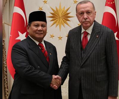 Cumhurbaşkanı Erdoğan Endonezya Savunma Bakanı Subianto'yu kabul etti