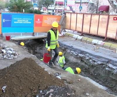 Üsküdar'daki kazı yeniden başladı
