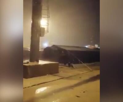 Arnavutluk'u deprem sonrası fırtına vurdu